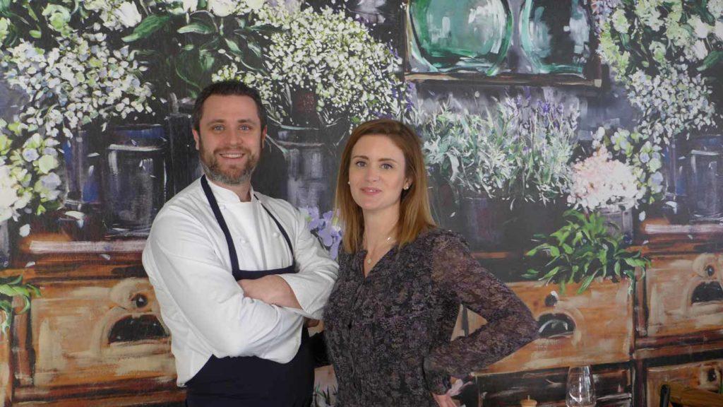 Restaurant Pinson Maud et Adrien Trouilloud à Chambéry